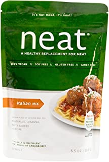 Neat, Mix Meat Replacement Italian, 5.5 Ounce