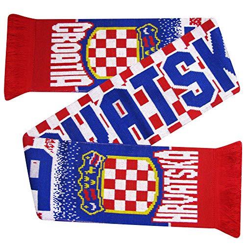 Kroatien (Hrvatska) Fußball-WM Fanschal (100% Acryl)