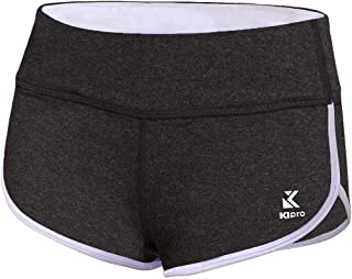 Women's Active Shorts Fitness Sports Yoga Booty Shorts for Running Gym Workout