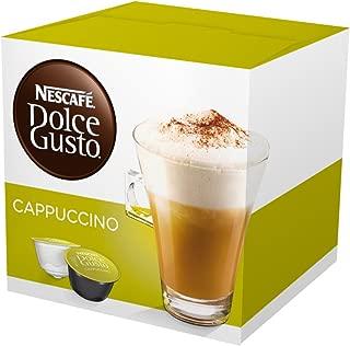 Nescafe Dolce Gusto Capsules, Cappuccino, 16 ct