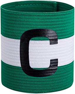 Soccers - Elastic Professional Football Match Captain's Armband C LOGO Arm Band Widen Thickening Cuff Soccer Sports Armband