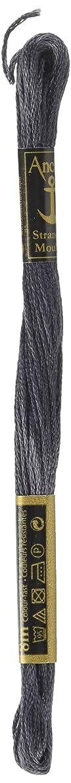 Anchor Six Strand Embroidery Floss 8.75 Yards-Charcoal Grey Dark 12 per Box