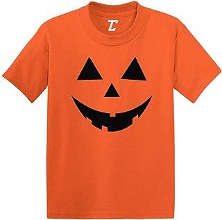 Pumpkin Face - Jack O' Lantern Infant/Toddler Cotton Jersey T-Shirt