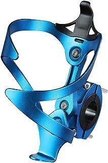 comprar comparacion He Ebb Portabidon Bicicleta, Portabidones Ajustable para Bicicleta de Aleación de Aluminio con Adaptador para Portabotella...