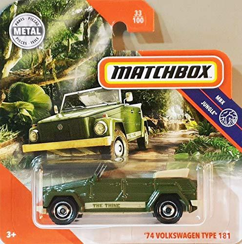 Matchbox* '74 Volkswagen Type 181 - 1:64, dunkelgrün