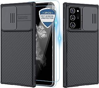XCYYOO Coque pour Samsung Galaxy Note 20 Ultra[Protection de la caméra],[2 Pack Protection écran] Protection de la Caméra ...