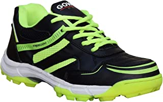 Gowin Unisex Freedom Black Lime Hockey Shoes