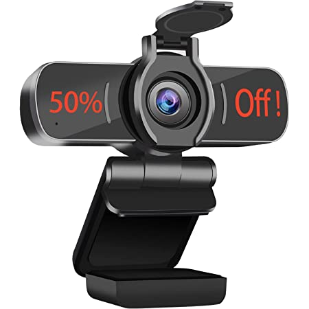Computer Camera with Microphone,LarmTek 1080P Webcam with Webcam Cover Compatible with Mac OS Windows Laptop PC Desktop,HD Webcam for Live Streaming Gaming Calling Video Conferencing