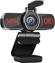 Computer Camera with Microphone,LarmTek 1080P Webcam with Webcam Cover Compatible with Mac OS Windows Laptop PC Desktop,HD...