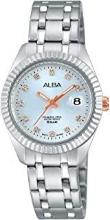 Alba Stainless Steel Casual Watch For Women , AH7G03X1