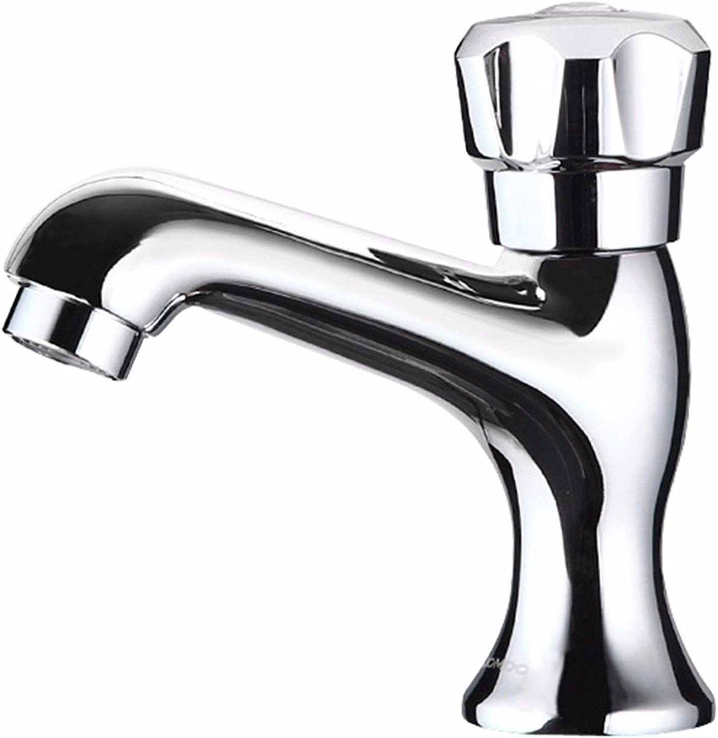 LHbox Basin Mixer Tap Bathroom Sink Faucet The health of the whole copper Express Open single cold single handle single hole basin Faucet