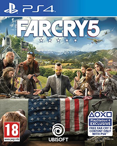 Far Cry 5 (PS4 Exclusive Content) PS4 [