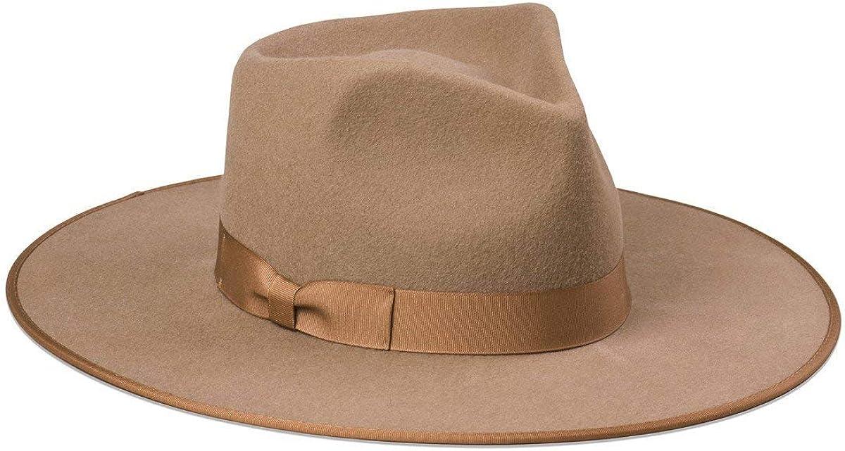 Lack of Color Unisex of Teak Wool Felt Western Rancher Hat