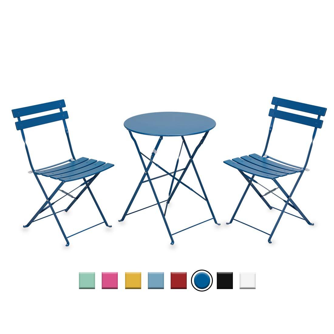 inovix patio chairs set of 2 balcony