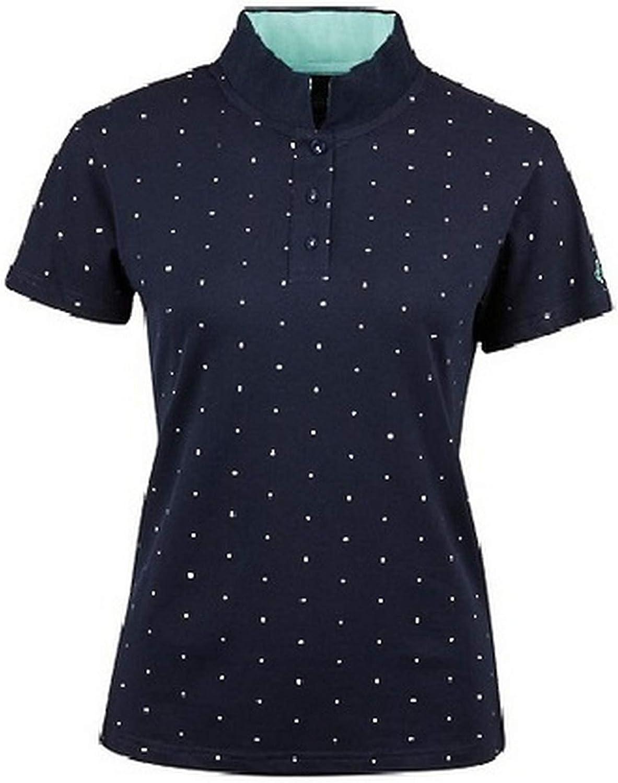 Dublin Womens Ladies Marine Short Sleeve Polo
