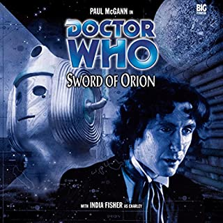 Doctor Who - Sword of Orion audiobook cover art