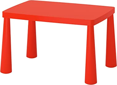 IKEA Mammut Children'S Table, Indoor/Outdoor Red