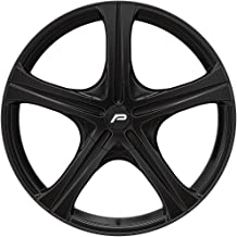 Pacer 403BK Slalom 16x6.5 5x112/5x120 +45mm Black Wheel Rim 16