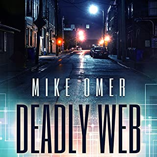 Deadly Web audiobook cover art