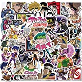 Classic Japanese Anime JoJo's Bizarre Adventure Stickers for Laptops, Computers, Water Bottles