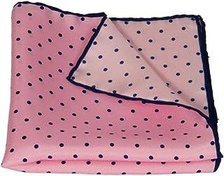 40 Colori - Pochette con disegno a pois in pura seta