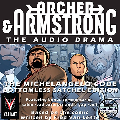 Archer & Armstrong The Michelangelo Code Titelbild