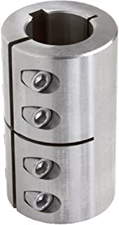 GSCC-Series Clamp Coupling Pack of 2 pcs Stainless Steel Climax Metal GSCC-100-075-S