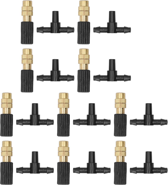 SANJIJIfeididna Sprinkler Nozzle Irrigation 10 Ranking TOP8 Surprise price Gard Set