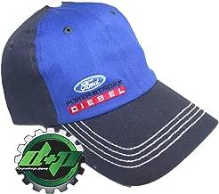Fitted Ford Powerstroke Trucker Ball Cap hat Diesel Fuel Flex Gear Stretch fit Blue Black