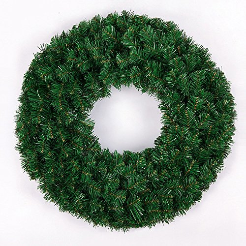 GYH Guirlande de Noël - décoration de Porte de Guirlande de Noël 40 / 60cm crypté Anneau de Vigne de Noël Guirlande Nu décoration de Noël /& (Taille : 60 cm)