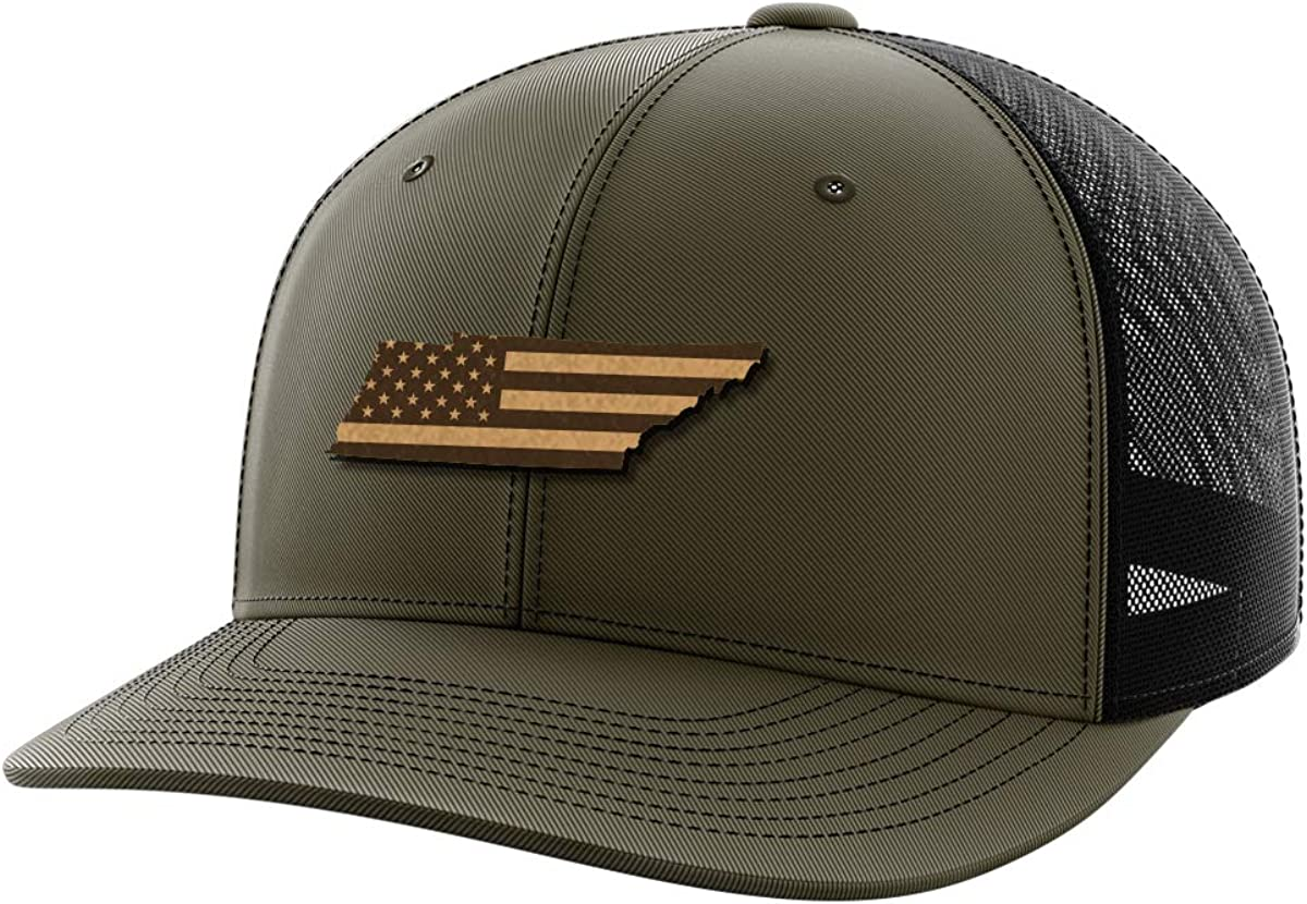 Tennessee United Leather Patch Hat