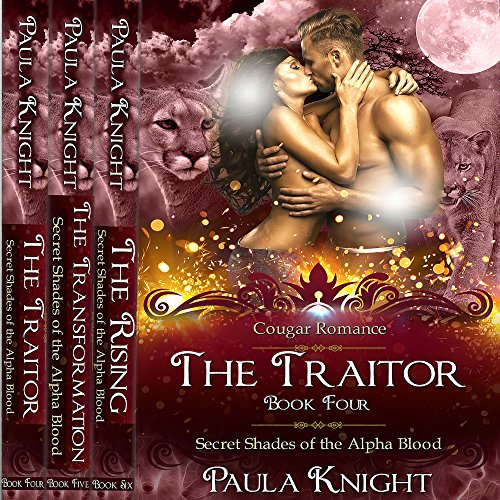 Cougar Romance: Secret Shades of the Alpha Blood Series - The Complete Collection Set 4-6 audiobook cover art