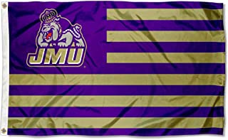 College Flags & Banners Co. James Madison Dukes Stars and Stripes Nation Flag