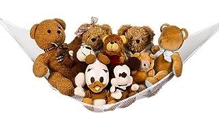 Grote Speelgoed Hangmat voor Gevulde Dieren, Flexibele Knuffels Speelgoed Opbergnet Organiser voor Slaapkamer Badkamer 70....