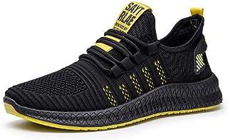 Hardloopschoenen voor heren,Comfortabele mesh ademende casual hardloopschoenen voor heren-yellow_42,heren Running Shoe