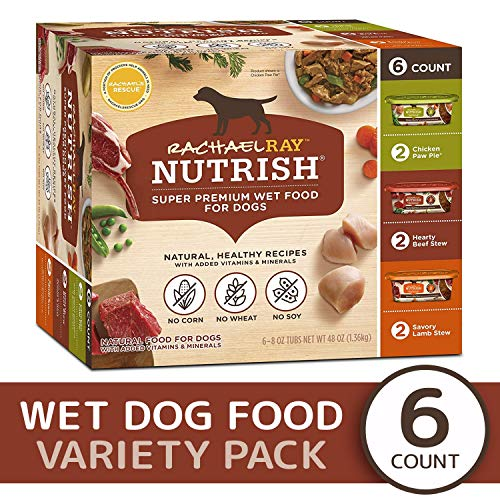 Rachael Ray Nutrish Natural Premium Wet Dog Food, Savory Favorites...