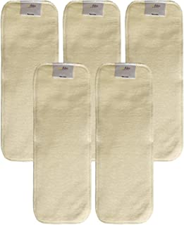 Hemp Diaper Inserts: Overnight Cloth Diaper Doubler Booster Pads