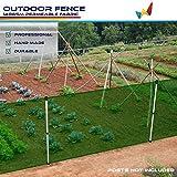 Windscreen4less Outdoor Garden Fence Mesh Netting...