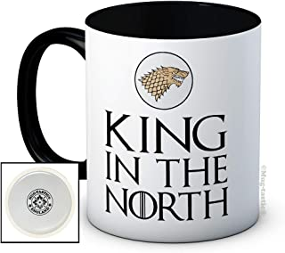 King in The North - Ceramic Coffee Mug - Birthday Christmas Father's Day