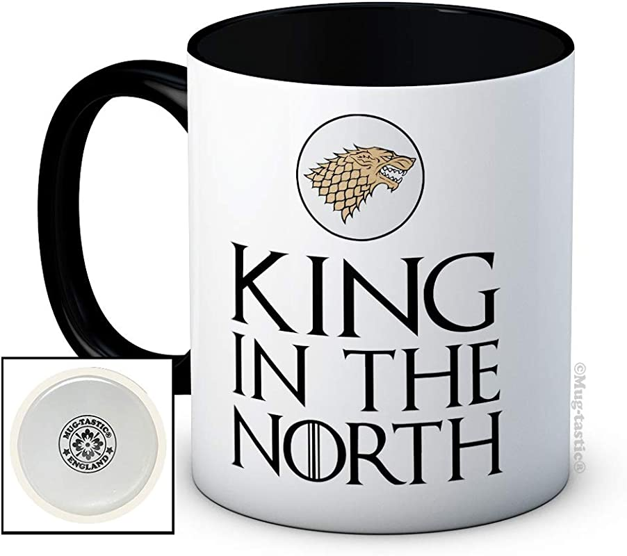 King In The North Ceramic Coffee Mug Birthday Christmas Father S Day