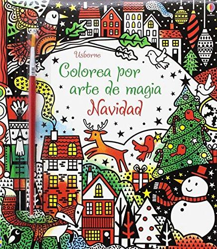 Colorea por arte de magia Navidad