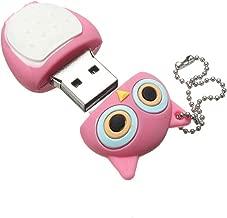 PenDrive buho - SODIAL(R) 32GB USB memoria 2.0 Palillo de memoria buho Roseo