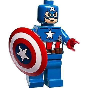 LEGO FIGUREN MARVEL SUPER HEROS BATMAN SUPERMAN CAPTAIN AMERICA A 12 // 1