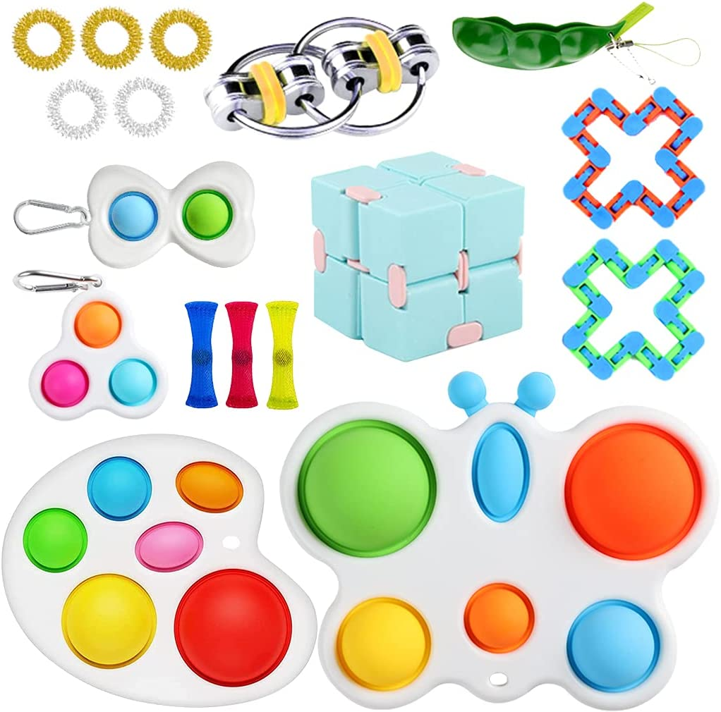 RaxDabby Max 70% OFF Fidget Elegant Toys Pack Cheap with It Simple Sensor Dimple in