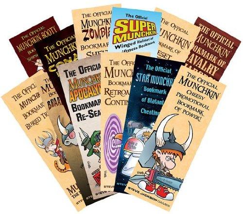 Steve Jackson Games Munchkin Lesezeichen Collection Kartenspiel