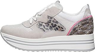 NeroGiardini E010564D Sneaker Donna Pelle/Camoscio/Tela