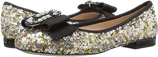 (マーク ジェイコブス) Marc Jacobs レディース シューズ・靴 スリッポン・フラット Interlock Round Toe Ballerina [並行輸入品]