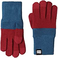 TRI-CO2 Evolg Touch Screen Gloves Knit One Size Fits All (Red x Blue)