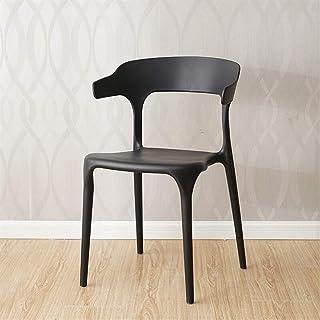 Juegos para sillas de respaldo alto Silla de ofici Moderna con estilo multifuncional Taburete Sillas simples adapta Nordic Style Bar taburetes for la cocina Cafetería Estudio Cocina Dormitorio