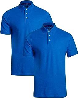 Young Men's Uniform Short Sleeve Pique Polo Shirt (2-Pack)